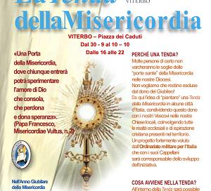 Tenda della Misericordia, a Viterbo in Piazza dei Caduti