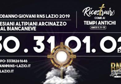 Capodanno, ecco l'invito per il grande evento di fine anno con tutti i giovani del Lazio