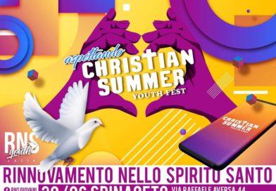 """Spinaceto l'incontro giovani in attesa del """"Christian Summer Youth Fest"""""""