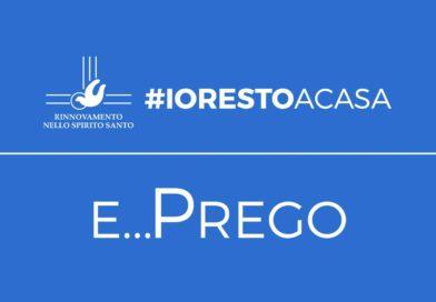 Coronavirus, Martinez lancia la campagna #iorestoacasa e prego