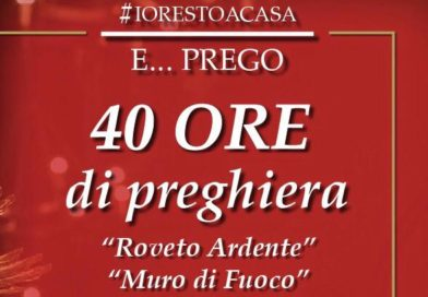 40 Ore di Adorazione, turni del Lazio e nuova programmazione social