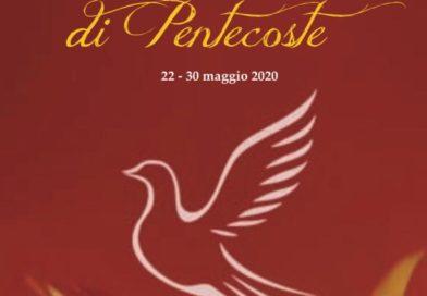 Novena di Pentecoste, da venerdì 22 maggio a sabato 30