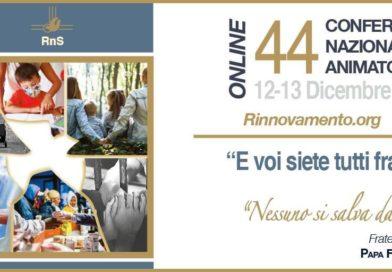 44esima Conferenza Nazionale Animatori online